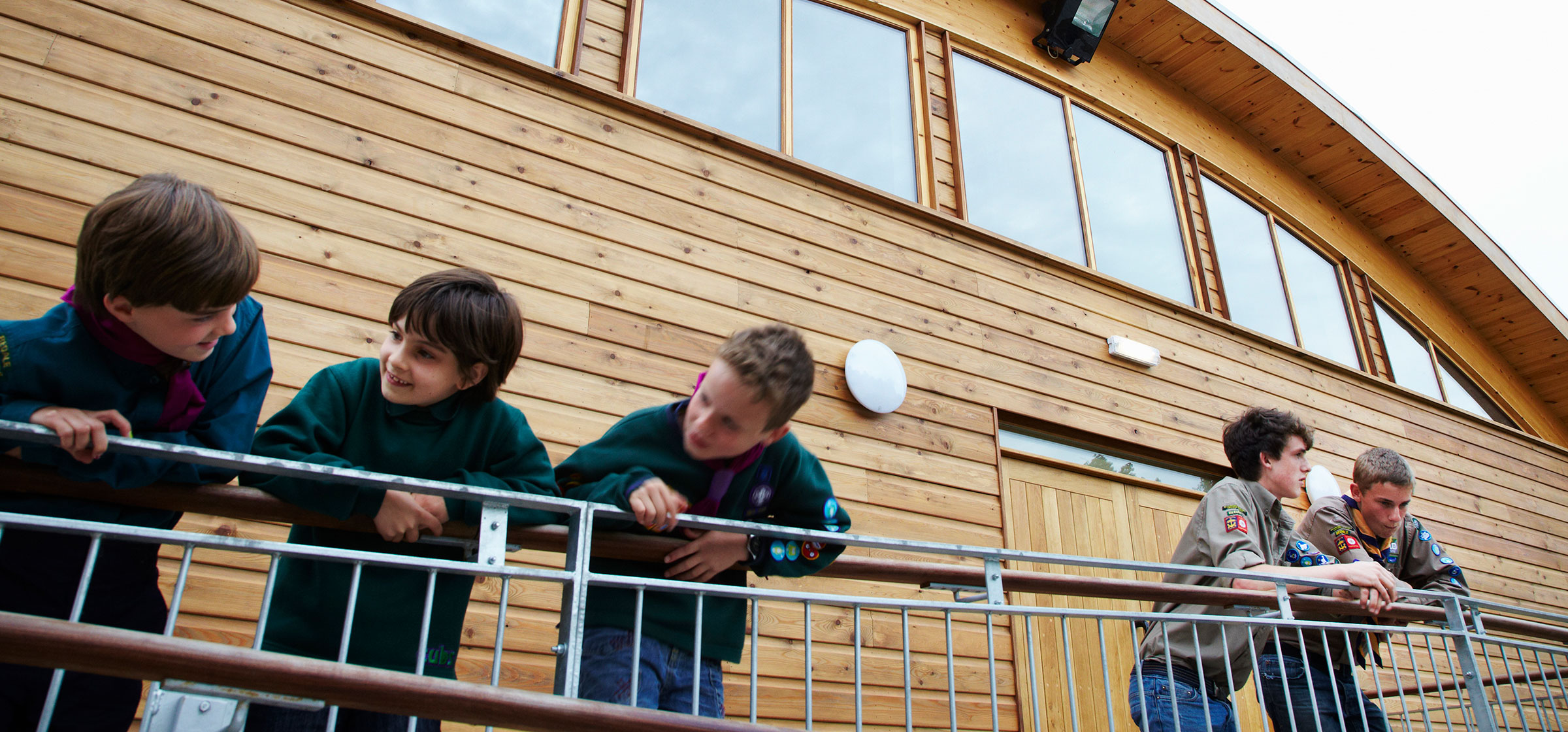 Bedale Scouts HQ - The large new activity hall for the Scouts, Guides and local community