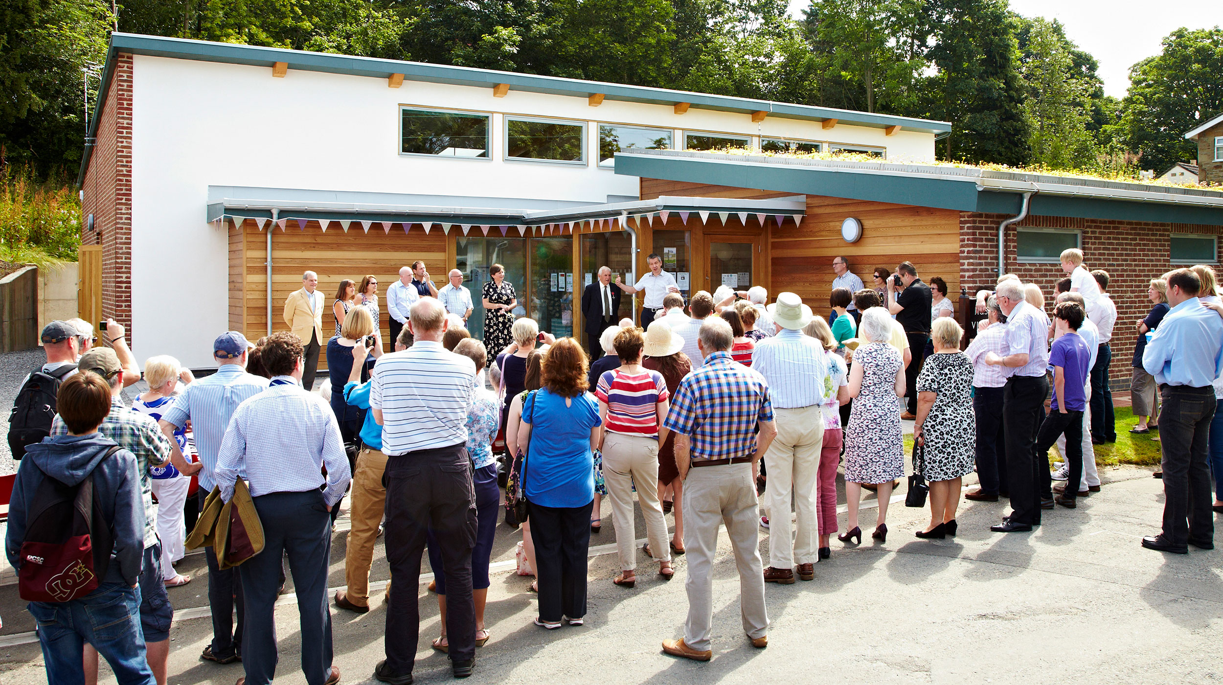 Husthwaite Village Hall - A low carbon structure using natural materials
