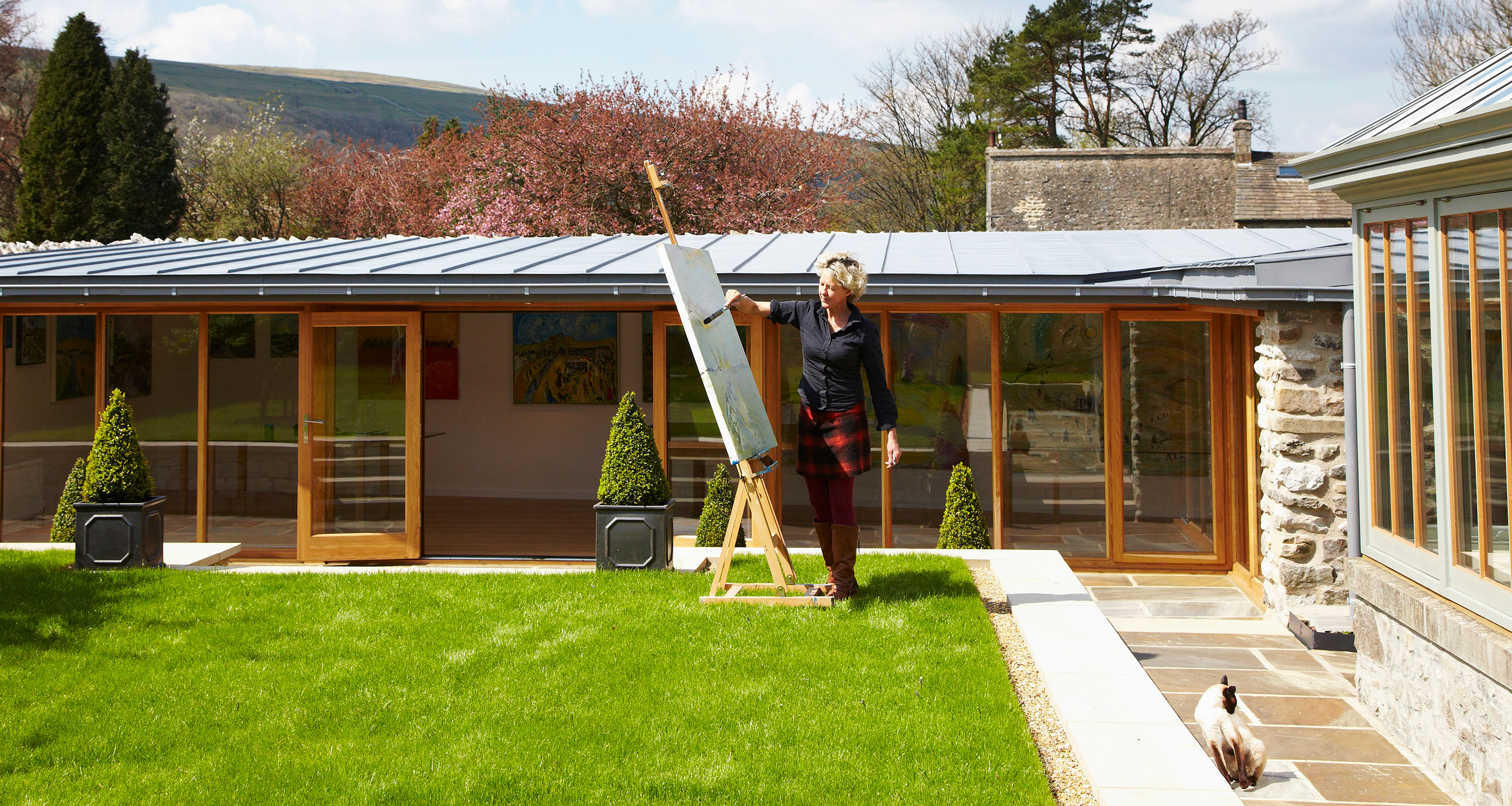 Prospect House - The award winning private artist's studio in the peaceful village of Arncliffe