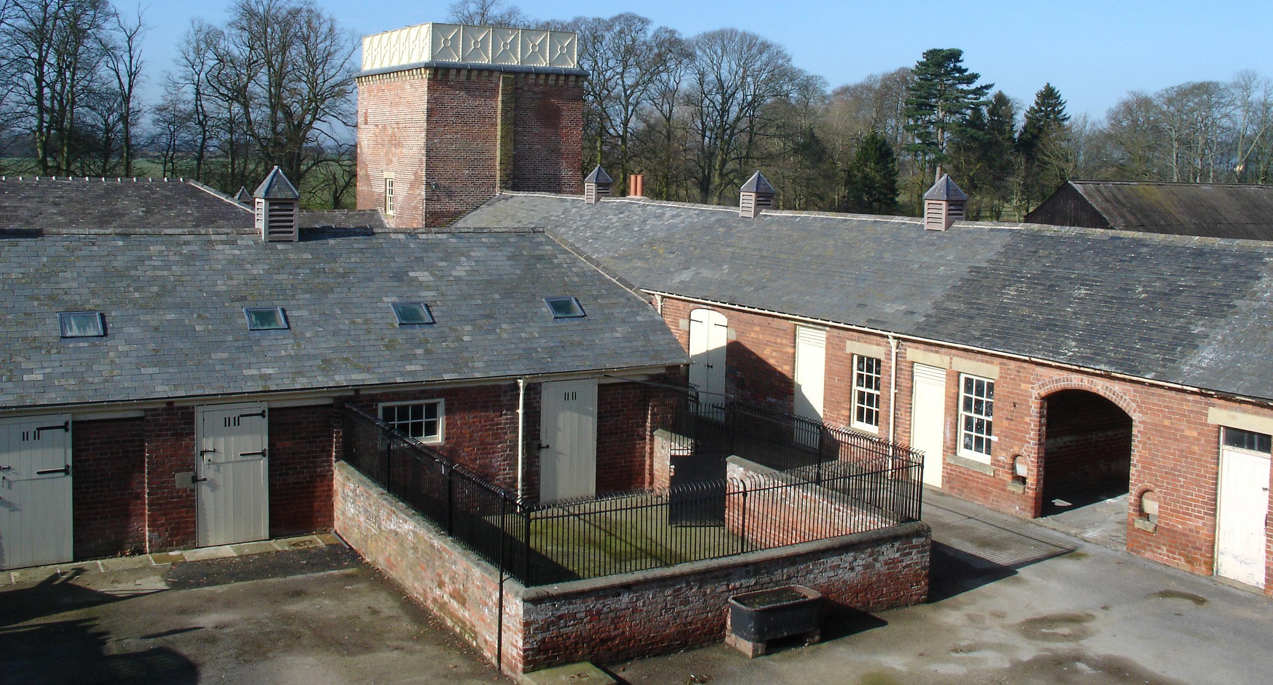 Myton Stud Farm - A heritage renovation of a Victorian model farm