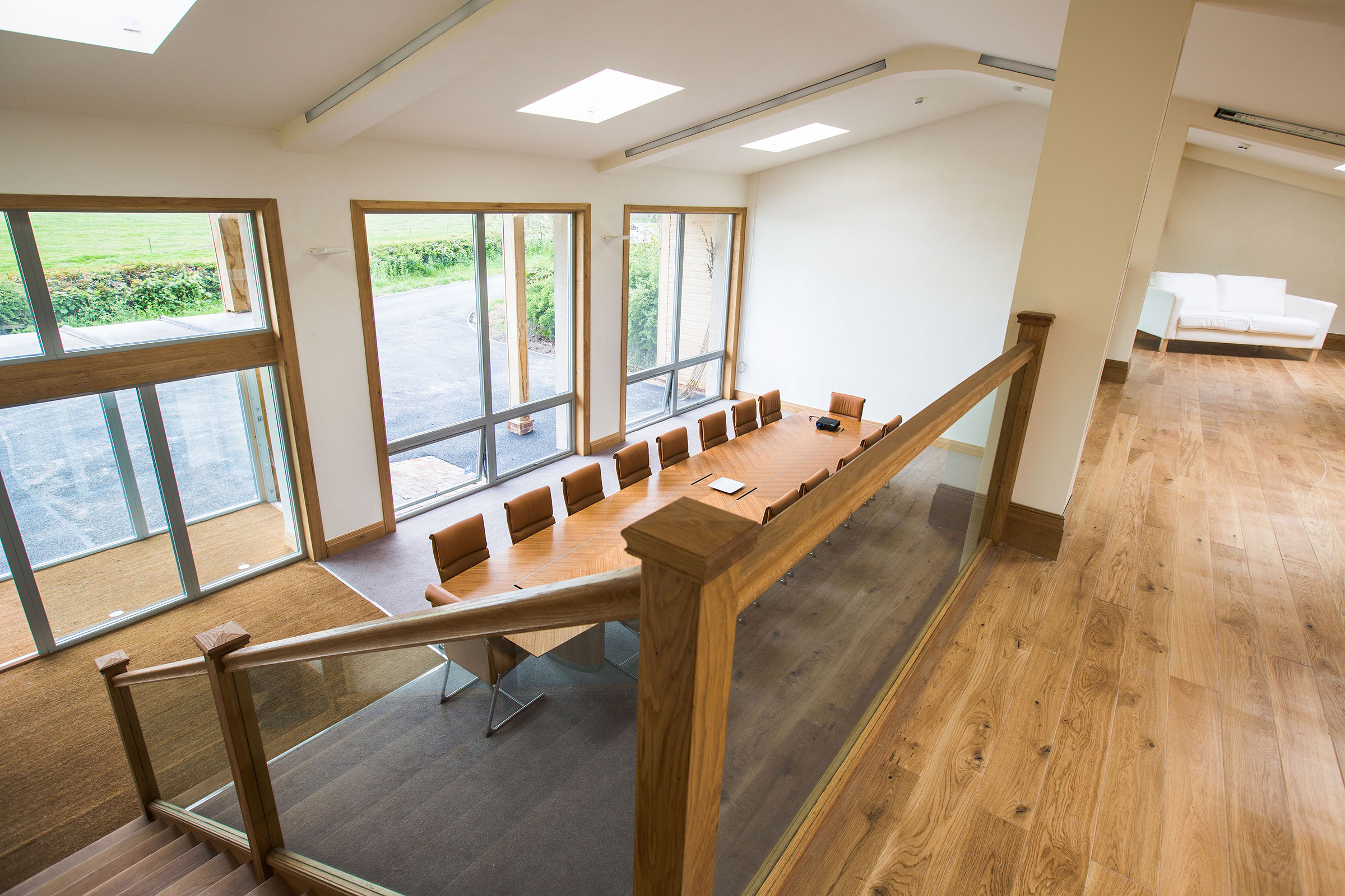 Hornington Manor - The sustainable new showroom for Harrison Spinks