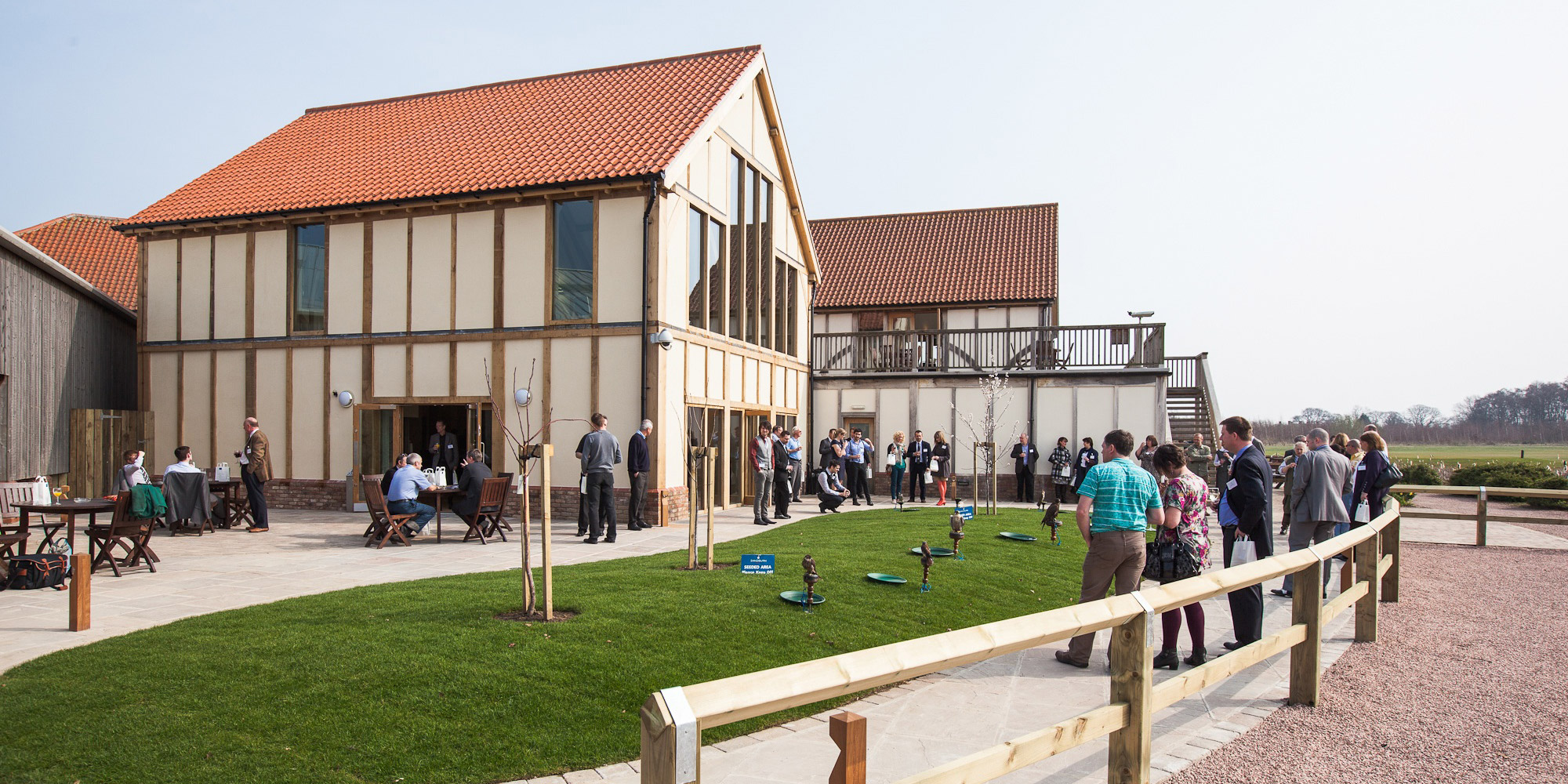 Sandburn Hall - A spacious expansion of the club's facilities