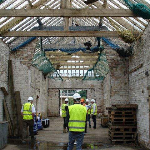 Construction, project management & handover